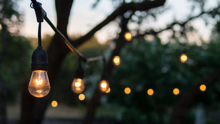 Get The Party Pumping With These Backyard Party Light Designs!
