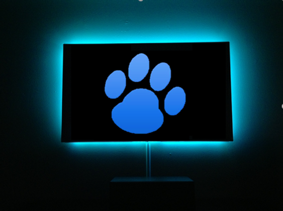 Using LED Light Strips Behind Your Television