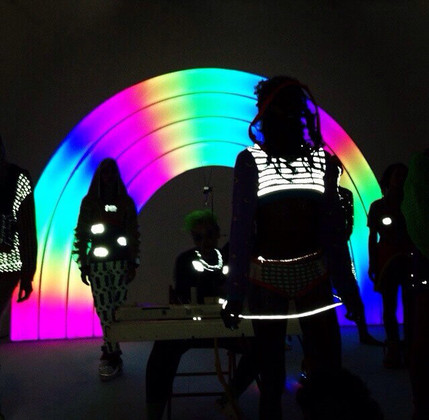 LED is in the Fasion Industry Now!