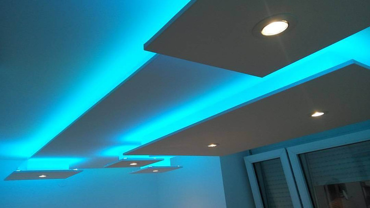 How to Install Ceiling LED Strip Lights