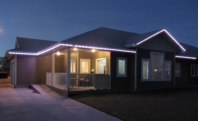 Security Lighting: Using LED Rope Lights to Improve a Home's Security