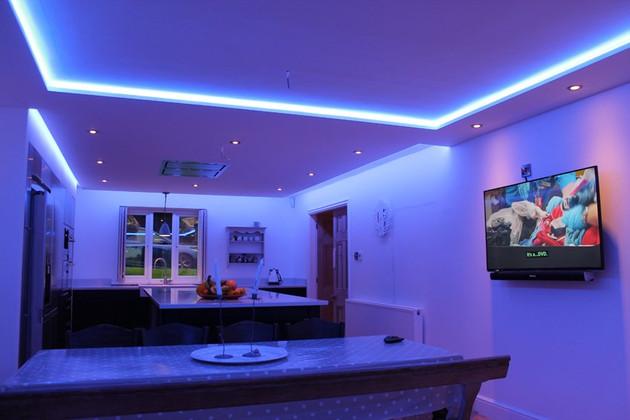 Magic Decor Inspiration: LED Strip Lights for Ceiling Ideas