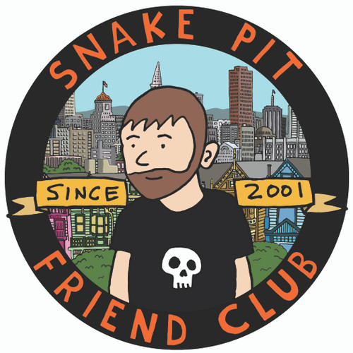 Snakepit Friend Club sticker