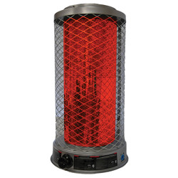 FRONT VIEW OF RADIANT GAS HEATER
