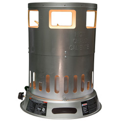 PROPANE CONVECTION HEATER GLOWING