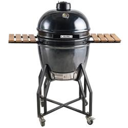 19 inch black ceramic kamado grill