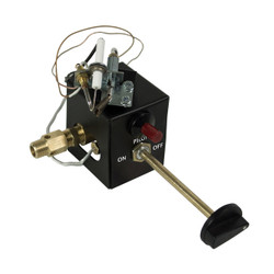 Safety Pilot/LP Conversion Kit FOR VENTED LOGS/INCLUDES CONTROL KNOB, IGNITER, THERMOCOUPLE, ELECTRODE, PILOT TUBE