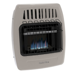 Comfort Glow Blue Flame Wall Heater Front View