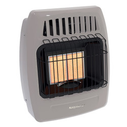 RIGHT ANGLE VIEW OF BEIGE INFRARED WALL HEATER