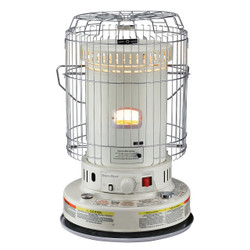 White Kerosene Heater on