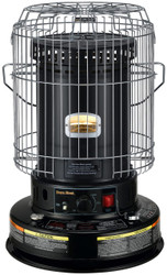 Black Kerosene Heater front on