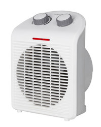 PORTABLE WHITE ELECTRIC HEATER