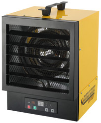 BLACK AND YELLOW SQUARE HEATER