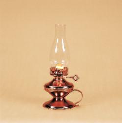 14 inch copper finish lamp