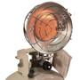 single tank top heater right angle view on