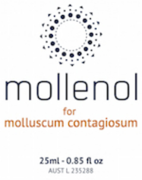 Mollenol is an effective treatment for molluscum contagiosum. Naturally effective.