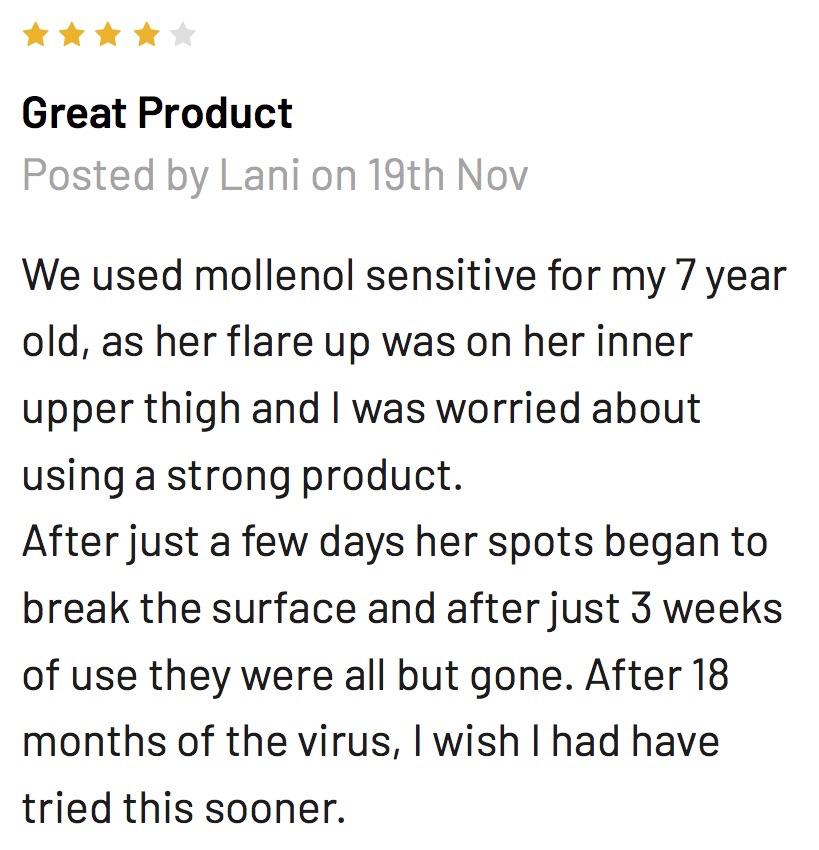 Mollenol Sensitive Review
