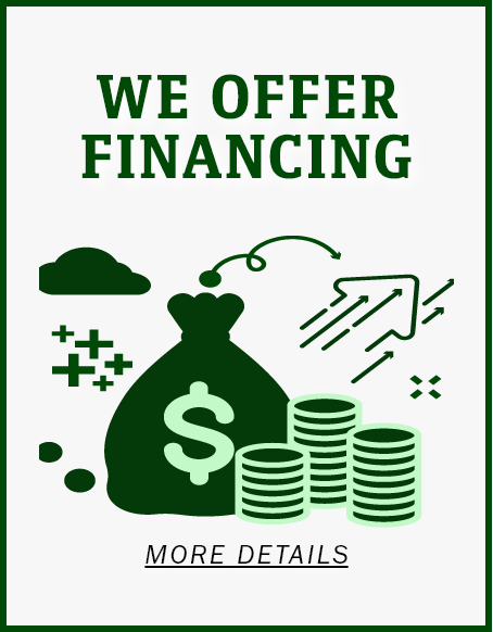More Details on our Financing Offers.