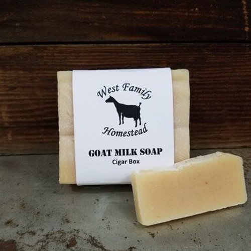 Cigar Box Soap