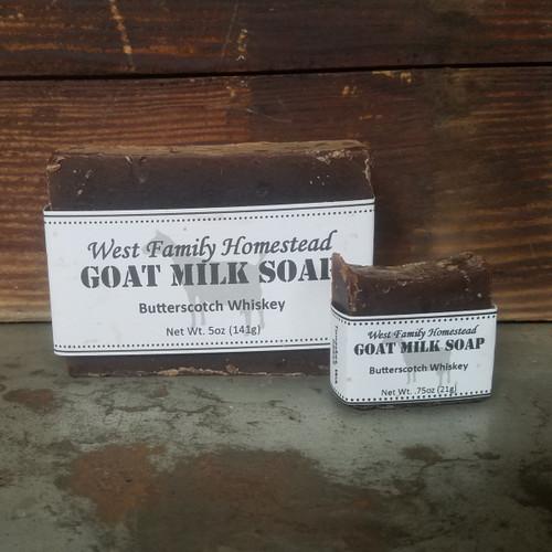 Butterscotch Whiskey Soap