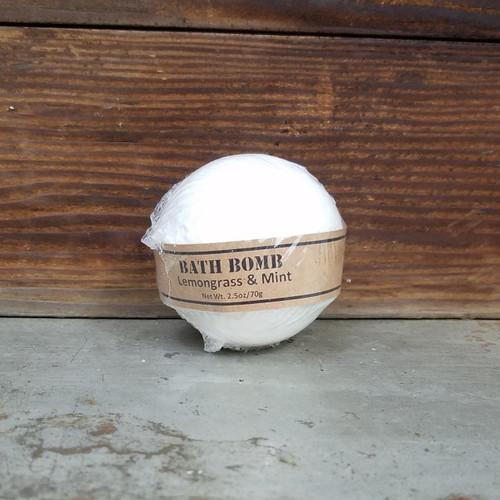 Lemongrass & Mint Bath Bomb 2.5oz