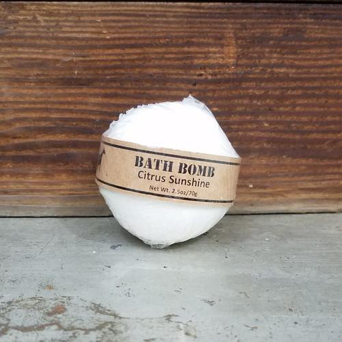 Citrus Sunshine Bath Bomb 2.5oz