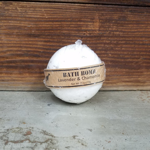 Lavender and Chamomile Bath Bomb 2.5oz