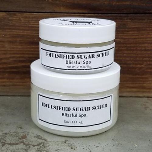 Blissful Spa Emulsified Sugar Scrub