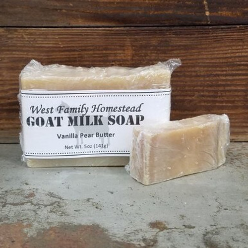 Vanilla Pear Butter Soap