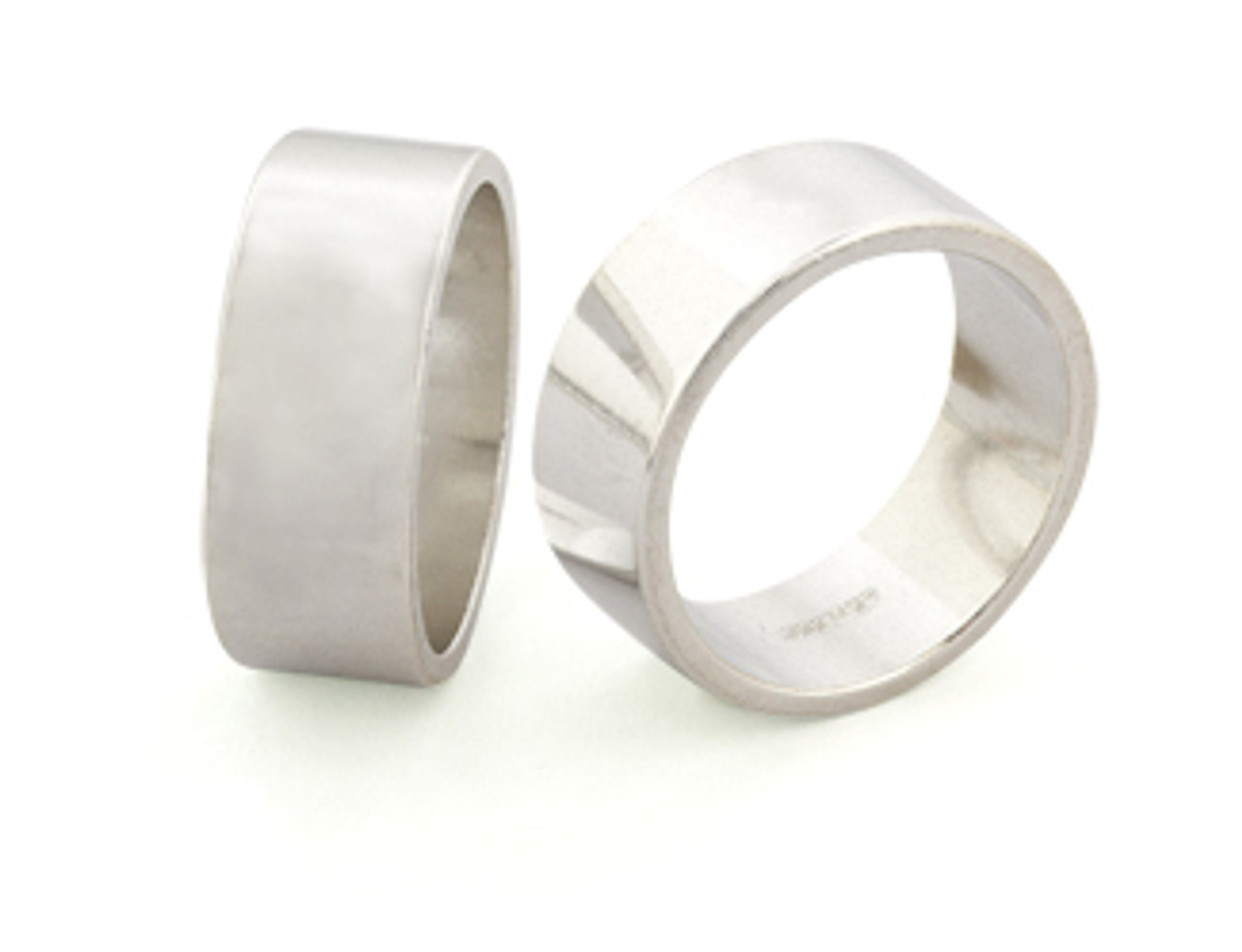 8mm Wide Ring Band - Size 8