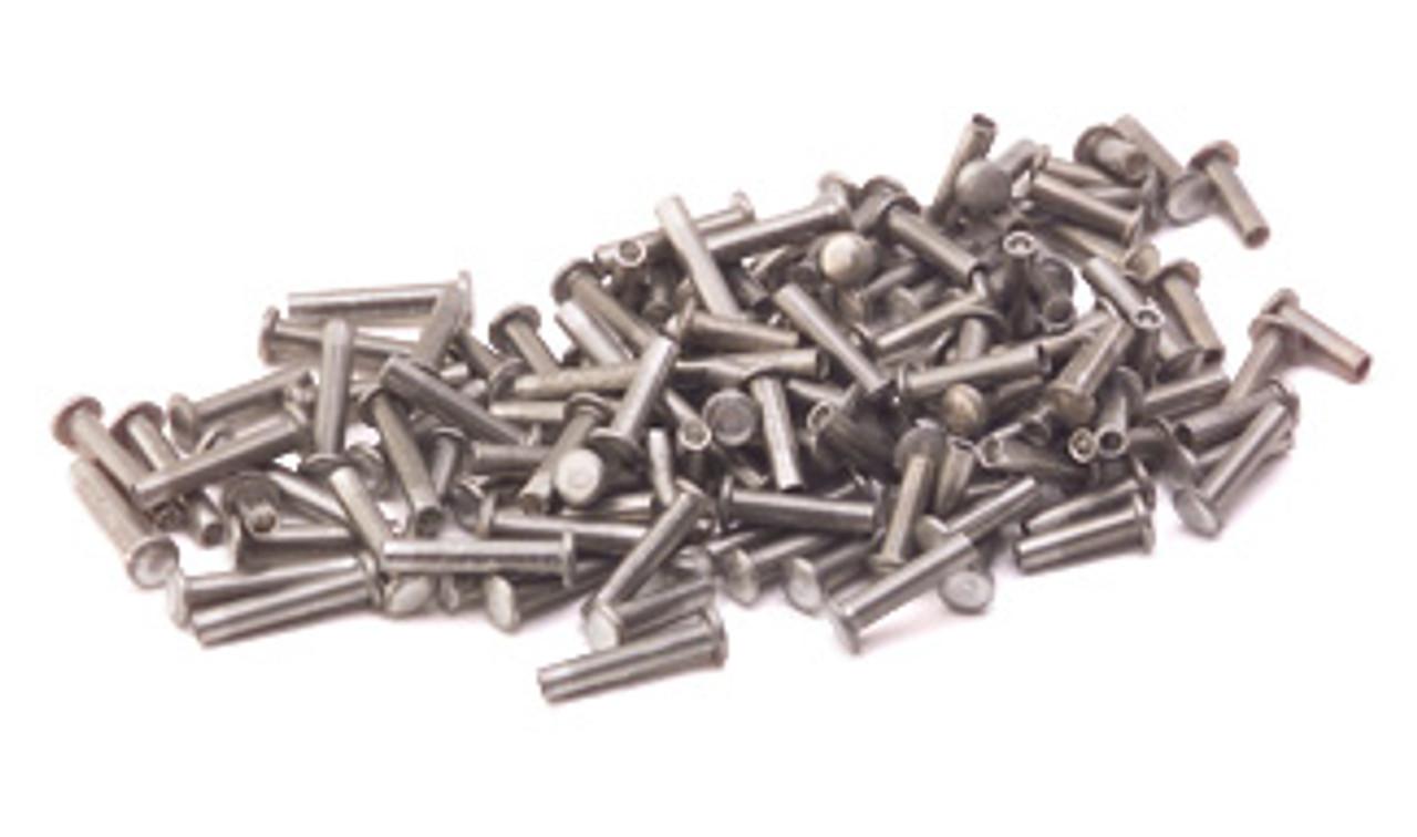 """Assorted 1/16"""" Dia. Medium Aluminum Rivets (125 pcs.)"""