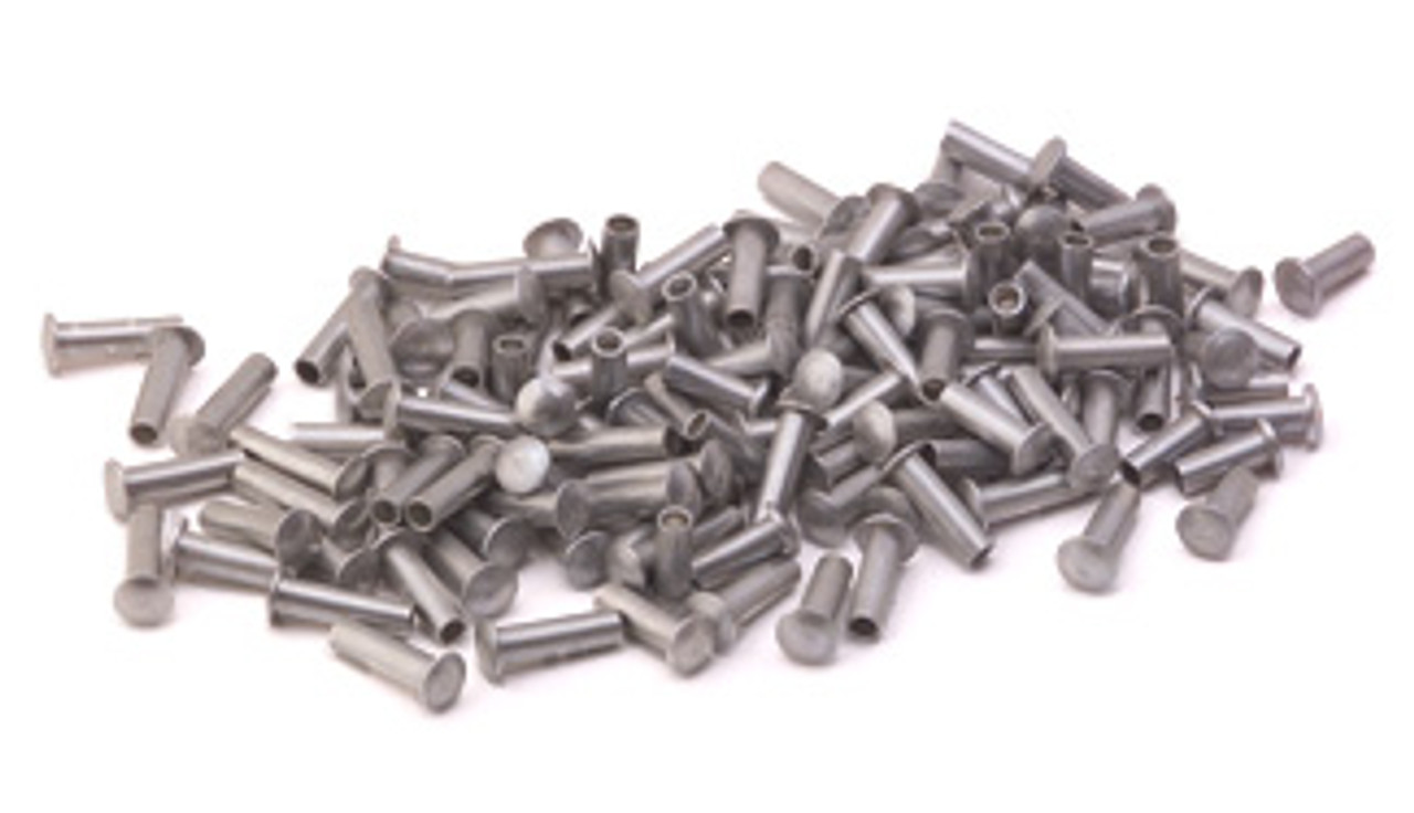 "Assorted 3/32"" Dia. Medium Aluminum Rivets (125 pcs.)"