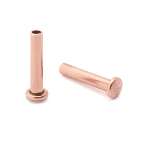 "1/16"" Dia. 5/16"" Long Copper Rivet (50pcs.)"