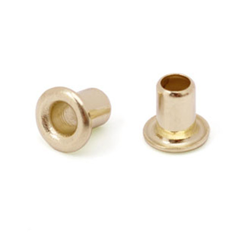 "3/32"" Dia. 1/8"" Long Brass Eyelet (50pcs.)"