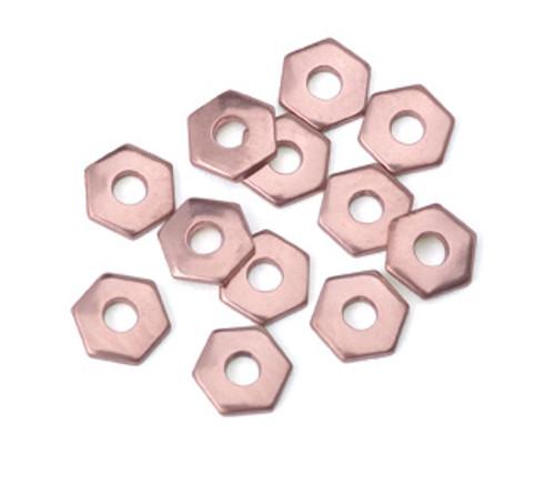 Copper Hex Rivet Accent (12pcs.)