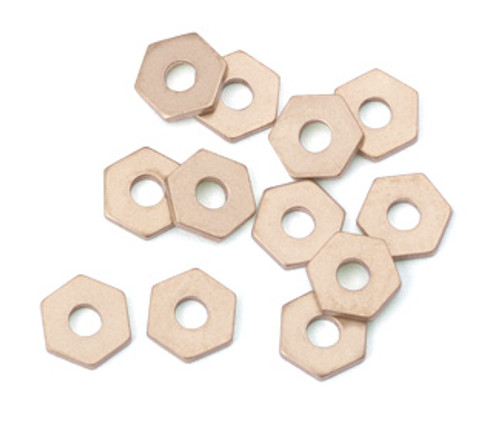 Brass Hex Rivet Accent (12pcs.)