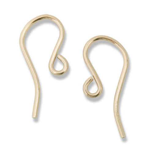 14KT Humpback Earwire (1 pair)