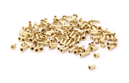 "Assorted 1/16"" Dia. Brass Eyelets (120 pcs.)"