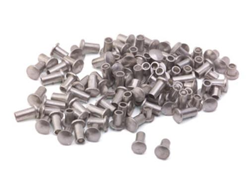 """Assorted 3/32"""" Dia. Short Aluminum Rivets (100 pcs.)"""