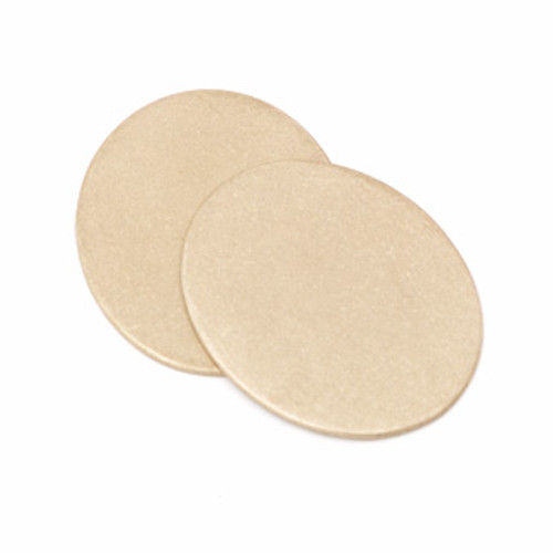 "Brass 7/8"" x 3/4"" Oval Blank (2 pcs.)"