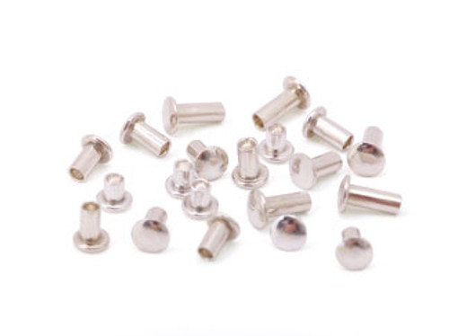 "Assorted 1/16"" Dia. Sterling Silver Rivets (20 pcs.)"