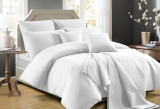 Perle Zeus Quilted King Bed Quilt Cover Set | White