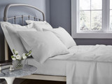 In2Linen Super King Mega Fitted sheet 500TC | 50cm wall White