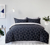 In 2 Linen David Queen Bed Quilt Cover Set