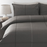 Charcoal Quilt Cover Set Bentley | In2Linen From