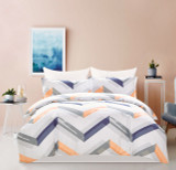 In 2 Linen Jodie Queen Bed Quilt Cover Set