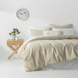 In2Linen Waffle Weave Pure Cotton Quilt Cover Set I Linen From $49.95
