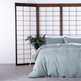 In2Linen Jersey Melange Pure Cotton Quilt Cover Set | Green From $49.95
