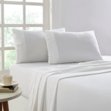 Flannel Sheet Set Egyptian Cotton 175 GSM Brushed - Colour White