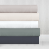 In2Linen Mega King Bamboo Cotton Fitted Sheet 50cm Wall  500TC | Pearl